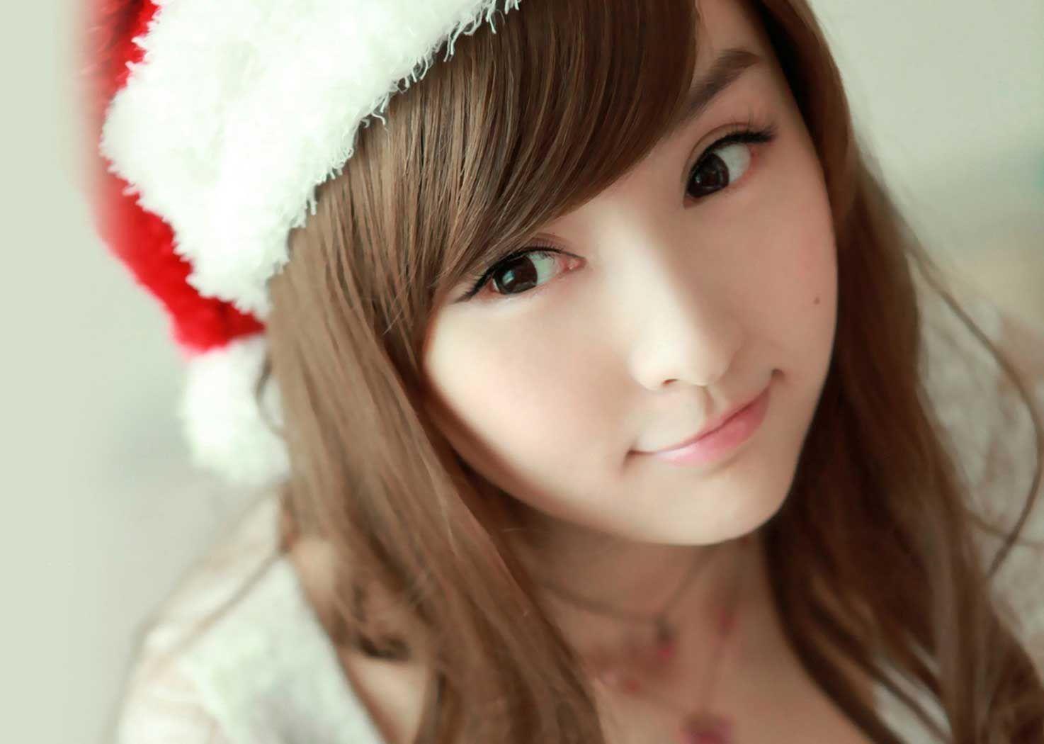 cutest christmas girls profile dp for whatsapp - freshmorningquotes
