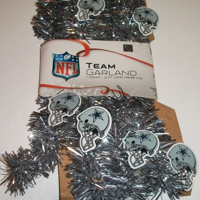 10 New Dallas Cowboys Christmas Images FULL HD 1080p For PC Desktop 2021 free download dallas cowboys nfl football christmas silver blue tinsel garland 6 800x800