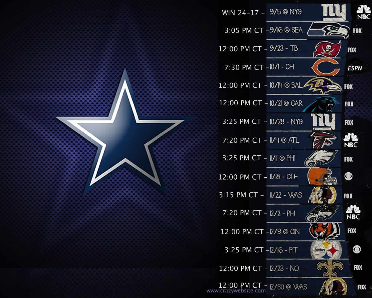 dallas cowboys wallpaper schedule collection (64+)