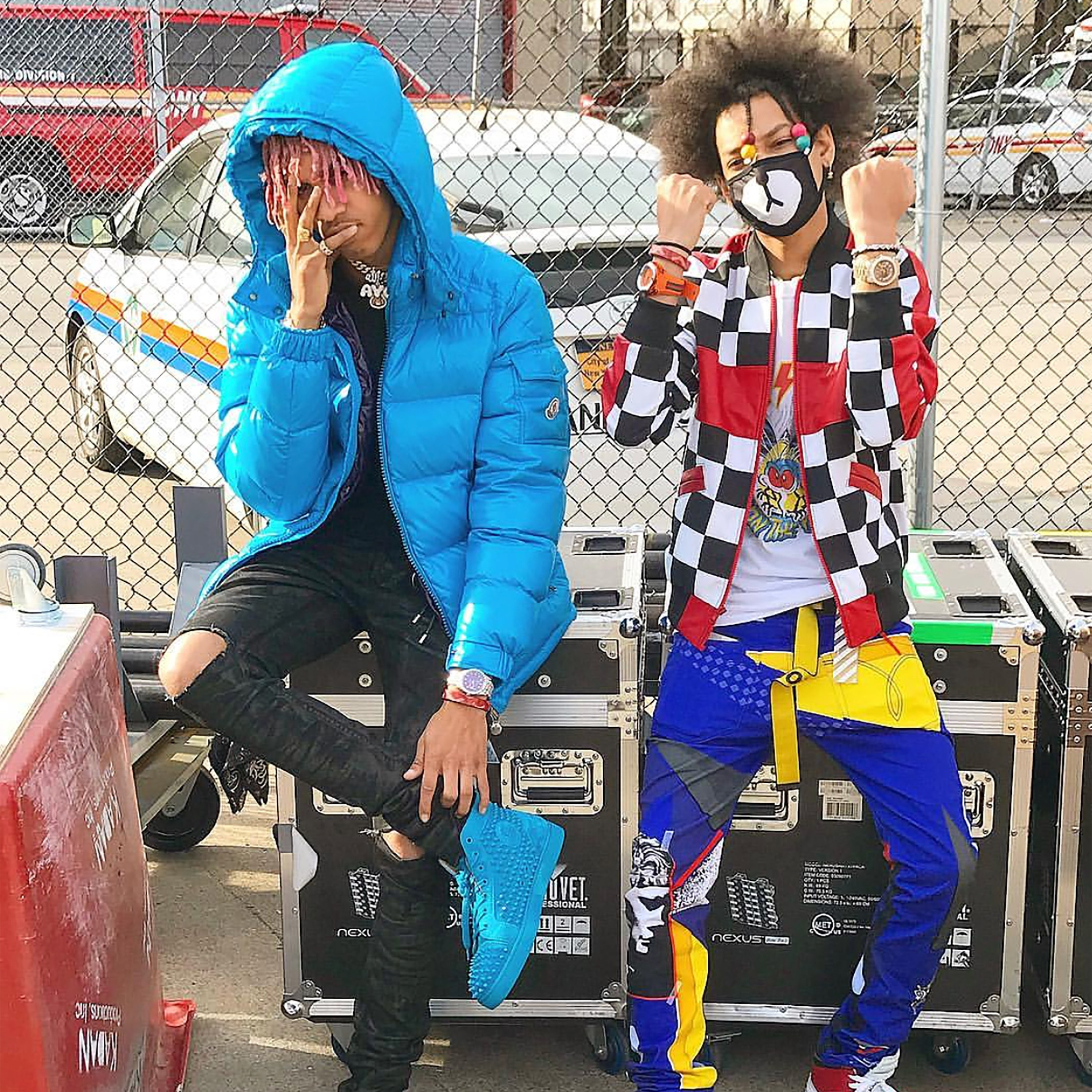 dancers ayo & teo on their strong accessories game - vogue