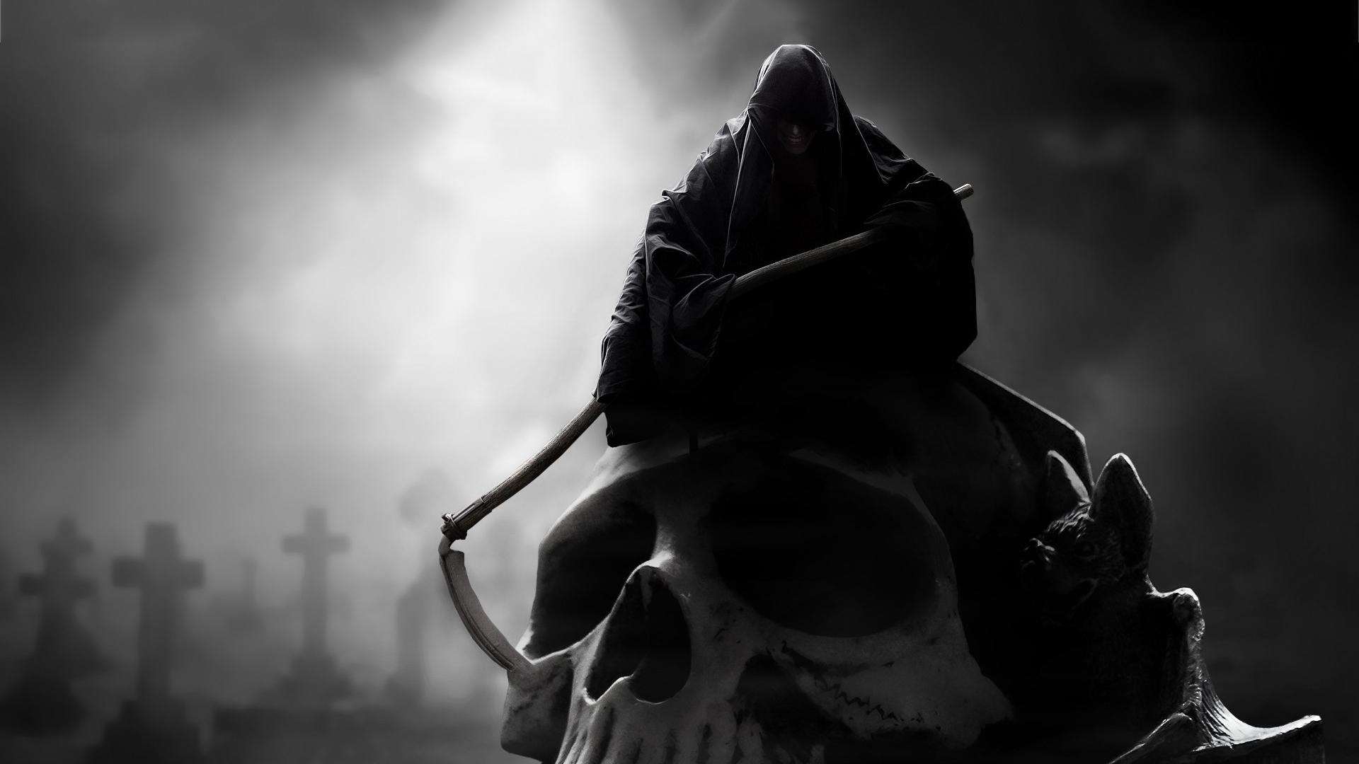 dark grim reaper wallpaper | (41816)