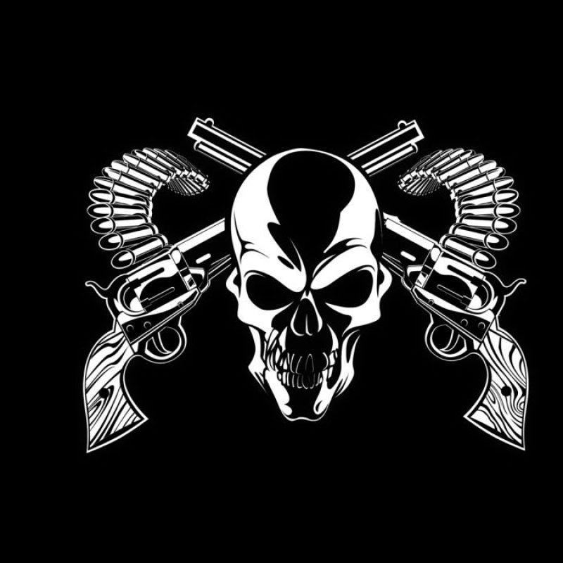 10 New Cool Skull And Guns Wallpapers FULL HD 1080p For PC Desktop 2018 free download dark horror skull weapons guns bullet ammo ammunition wallpaper 800x800