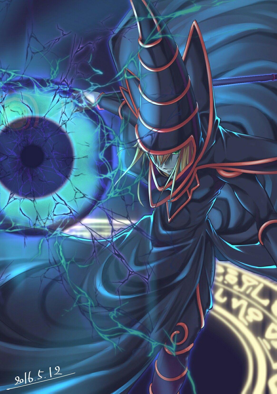 dark magician phone wallpaper | yugioh, anime, geek | superheroes vs