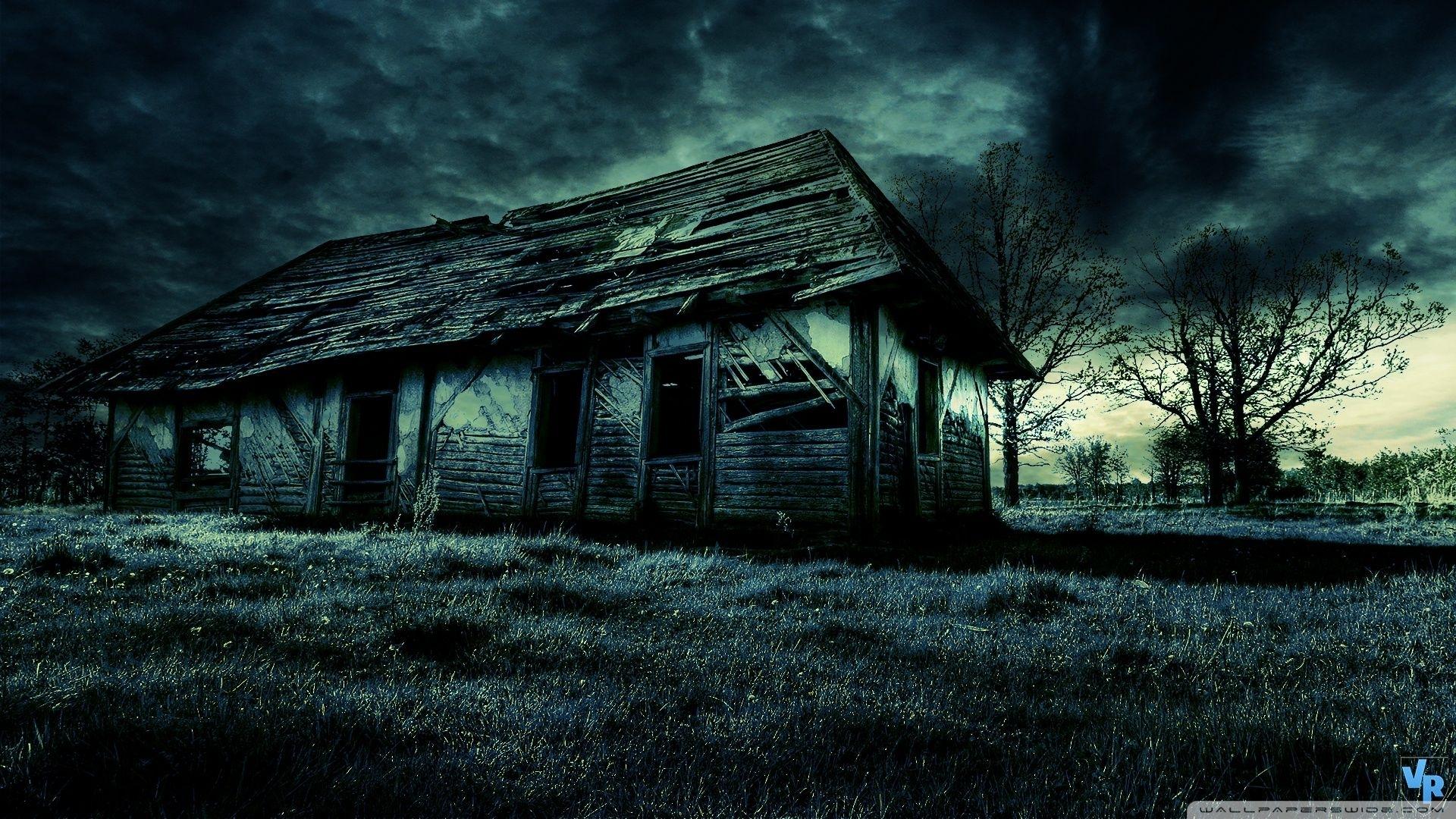 dark old house hd desktop wallpaper widescreen high definition | hd