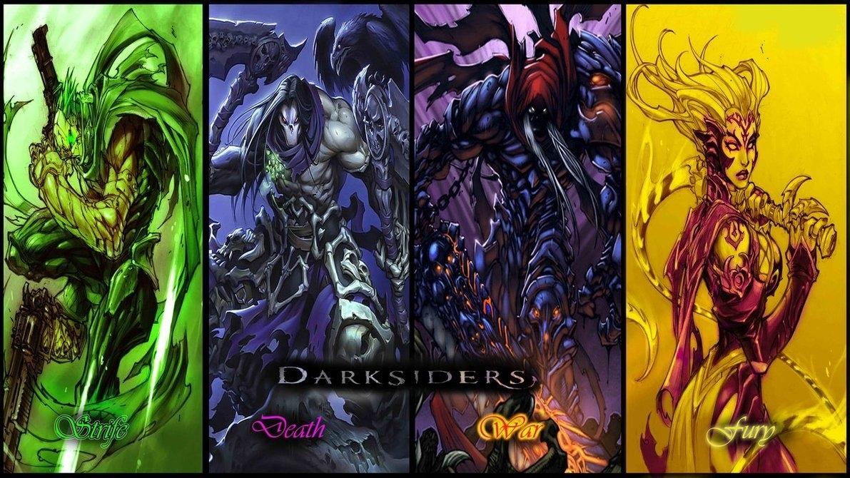 darksiders the 4 horsemenshabaazkhan on deviantart