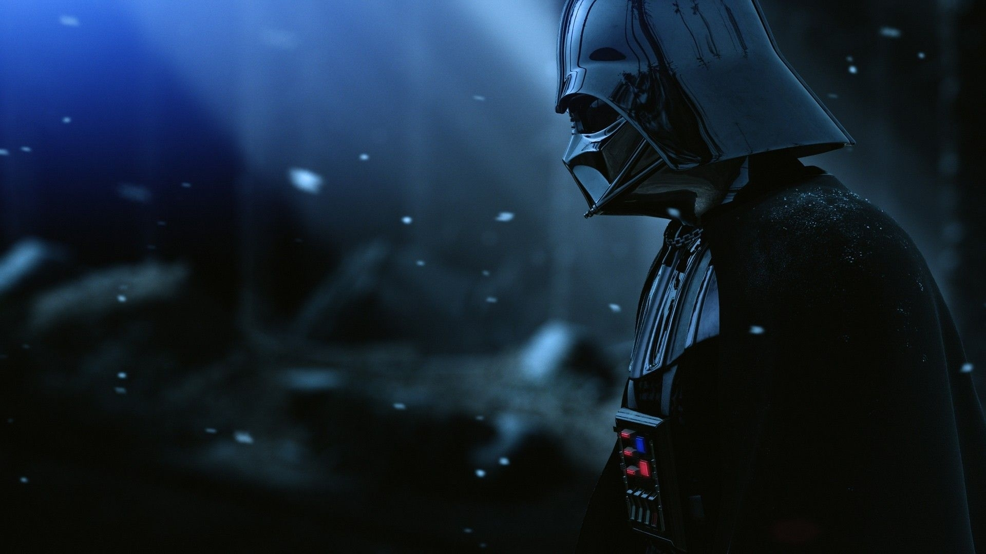 darth vader star wars in snow hd wallpaper » fullhdwpp - full hd
