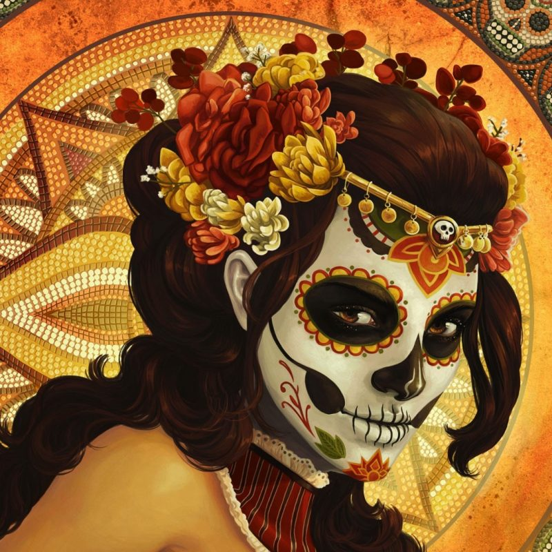 10 Most Popular Day Of The Dead Wallpapers FULL HD 1920×1080 For PC Desktop 2018 free download day of the dead mask wallpaper fantasy wallpapers 16284 800x800