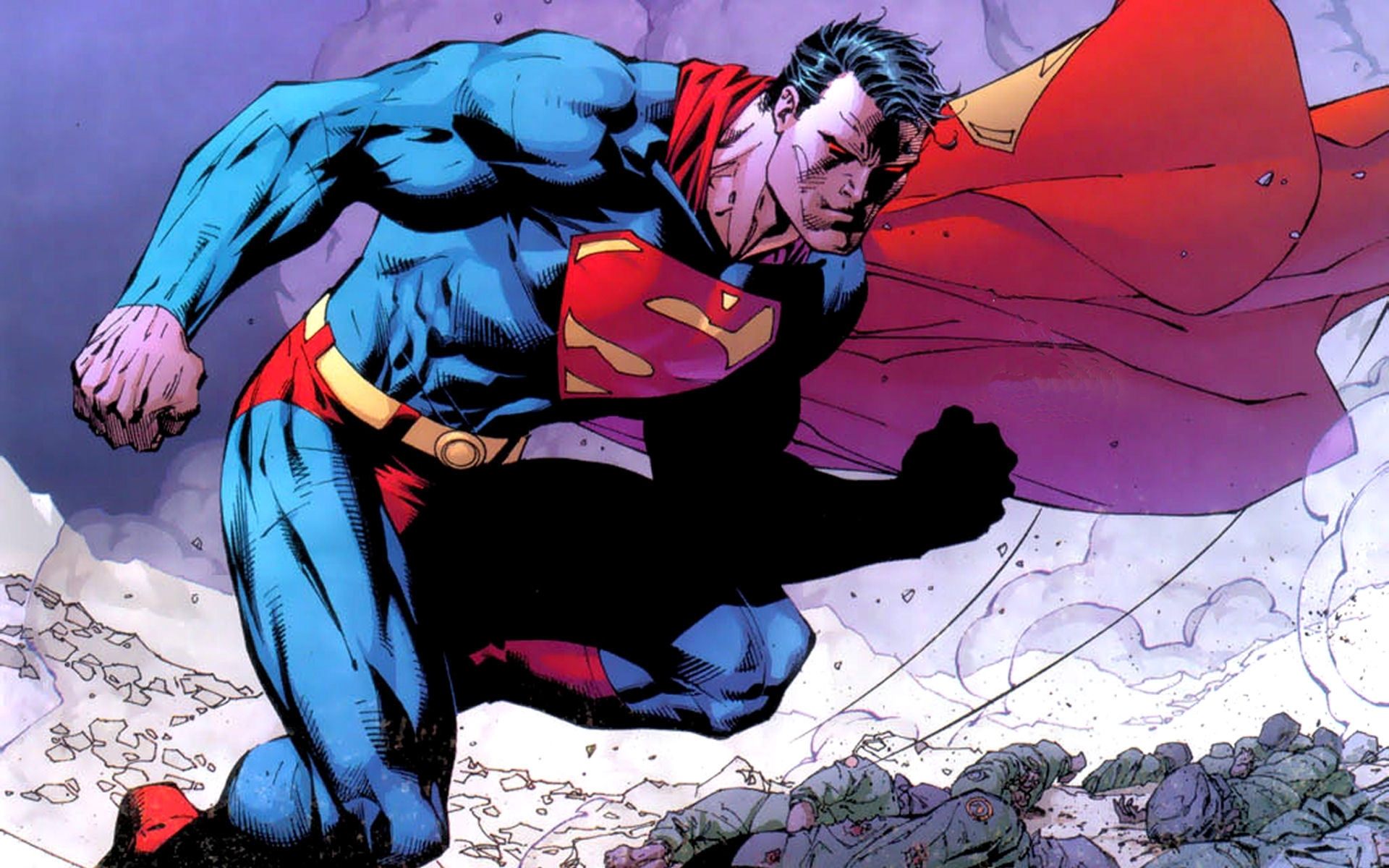 dc comics superman superheroes jim lee wallpaper | 1920x1200 | 54575
