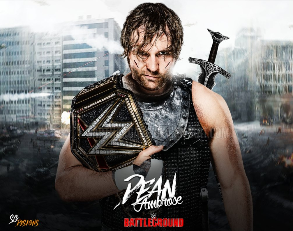 dean ambrose warrior wallpaper - battlegroundsarthakgarg on