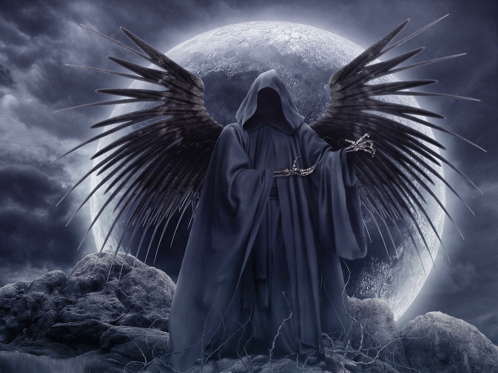 death angel wallpaper from angels wallpapers