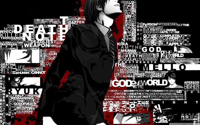 10 New Death Note Backgrounds FULL HD 1920×1080 For PC Desktop 2020 free download death note hd wallpaper background image 2560x1600 id332761 800x500