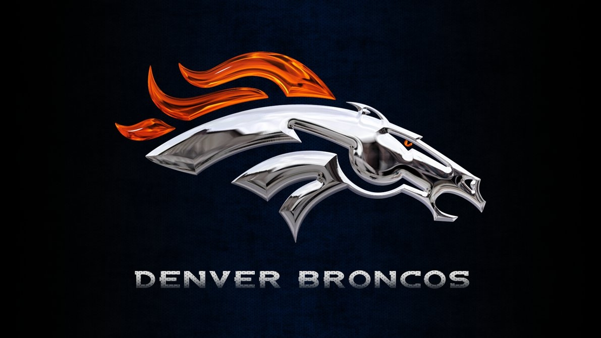 denver broncos chrome wallpaperdenversportswalls on deviantart