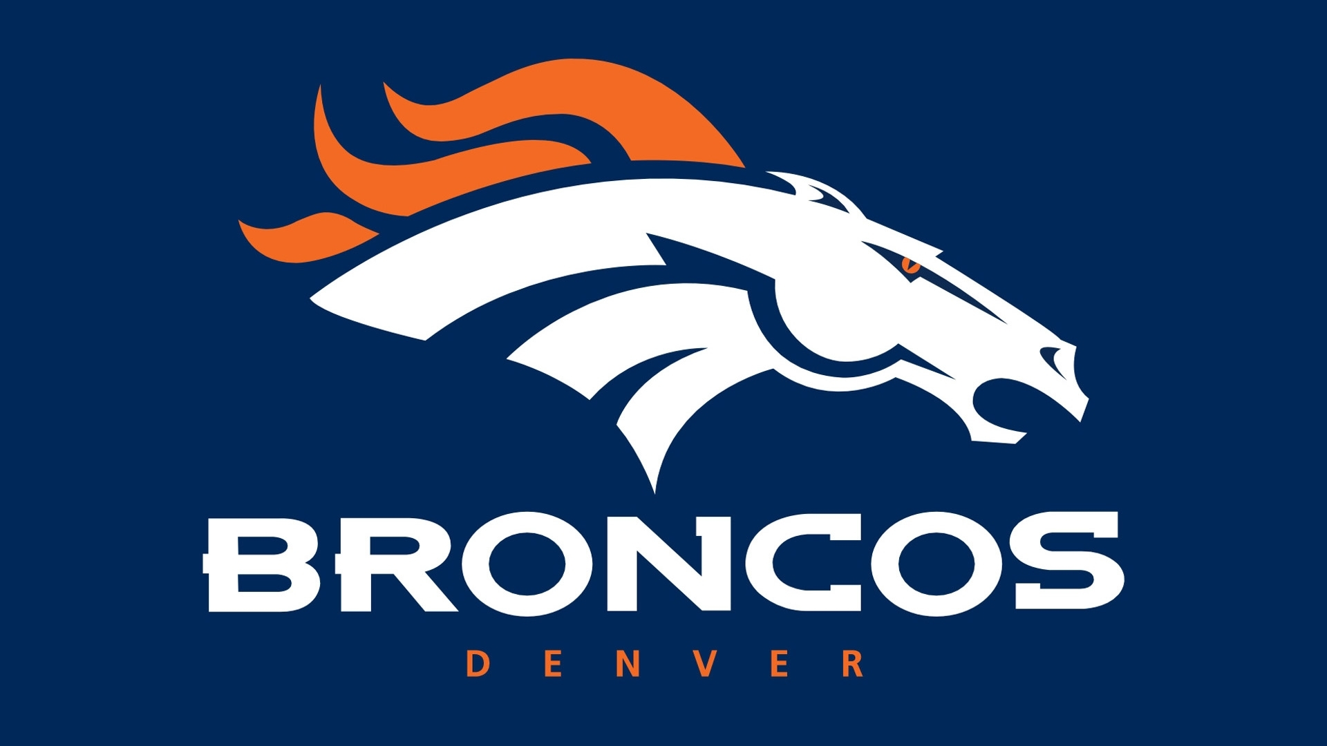 denver broncos horse logo 1920x1080 168 hd photo