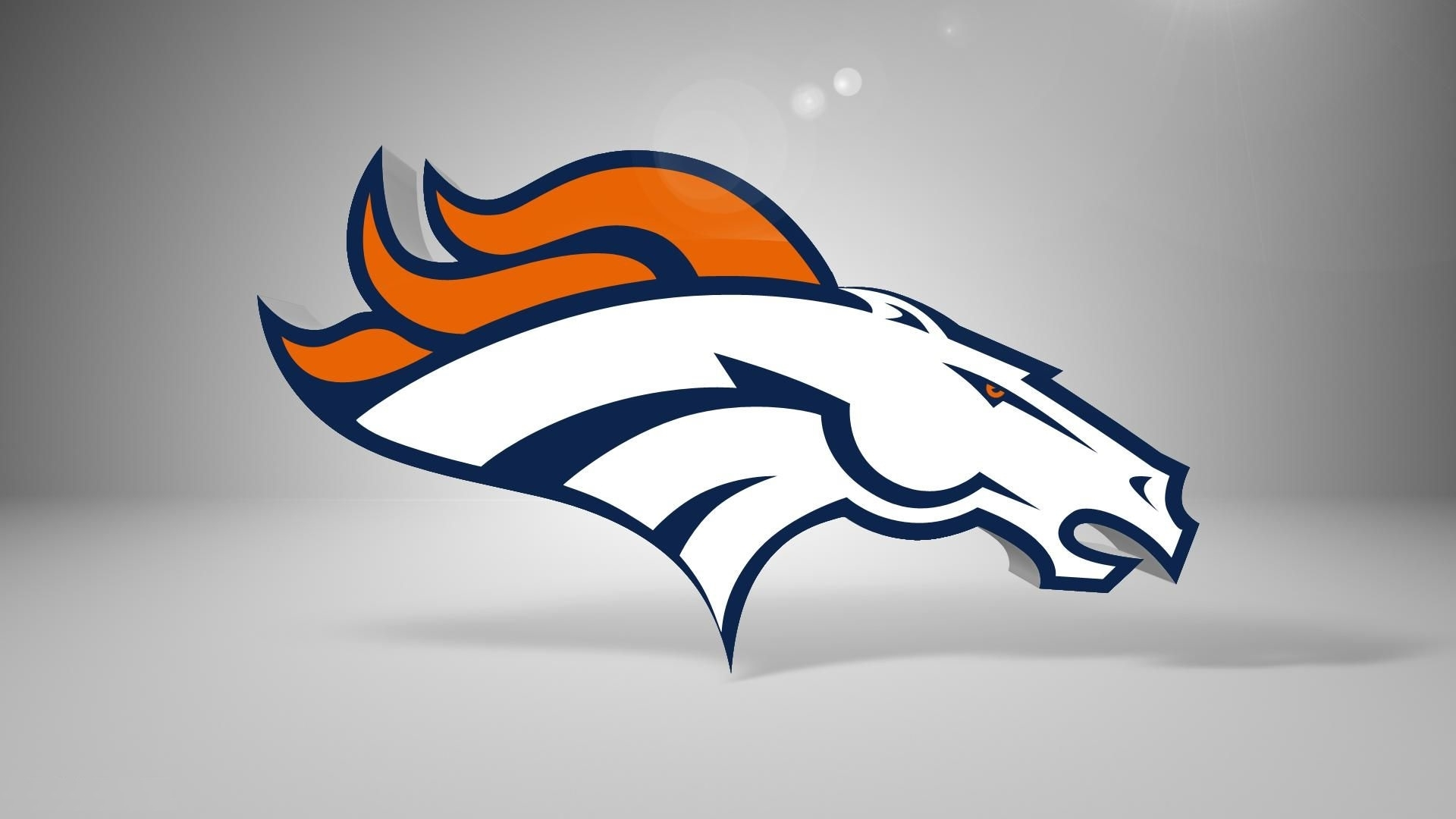denver broncos logo wallpaper hd - media file | pixelstalk