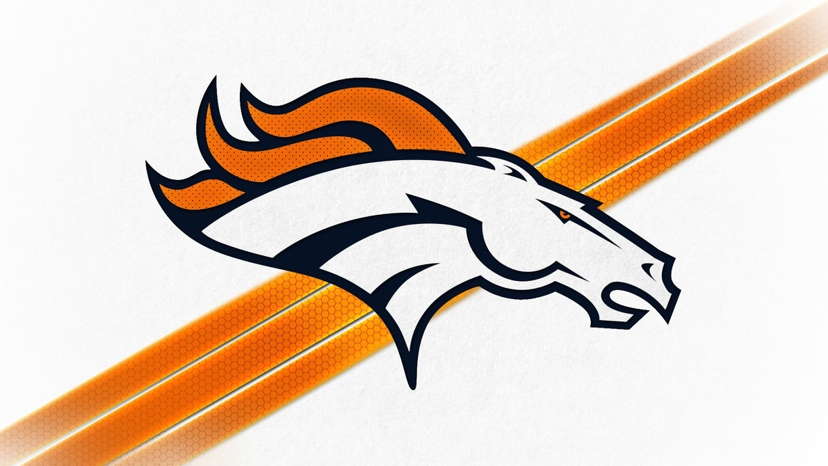 denver broncos logo wallpaperdenversportswalls on deviantart