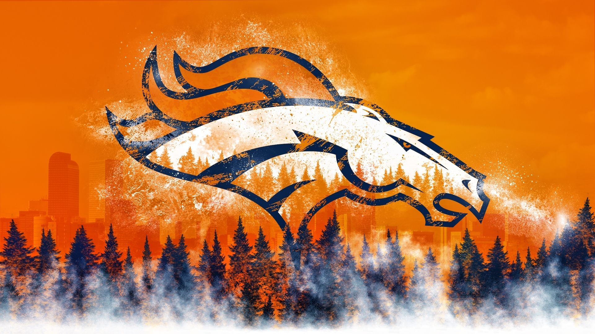denver broncos wallpaper images hd - media file | pixelstalk