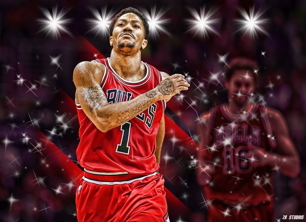 derrick rose 2015 wallpaperrealzbstudios on deviantart