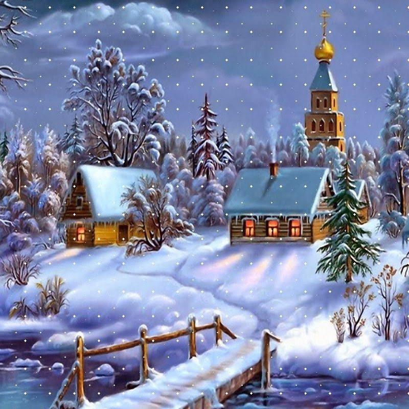 10 Top Desktop Wallpaper Christmas Scenes FULL HD 1920x1080 For PC 2018 Free