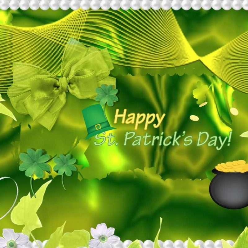 10 Best Saint Patrick's Day Backgrounds FULL HD 1080p For PC Desktop 2018 free download desktop st patricks day rainbow day wallpaper st patrick s 1 800x800