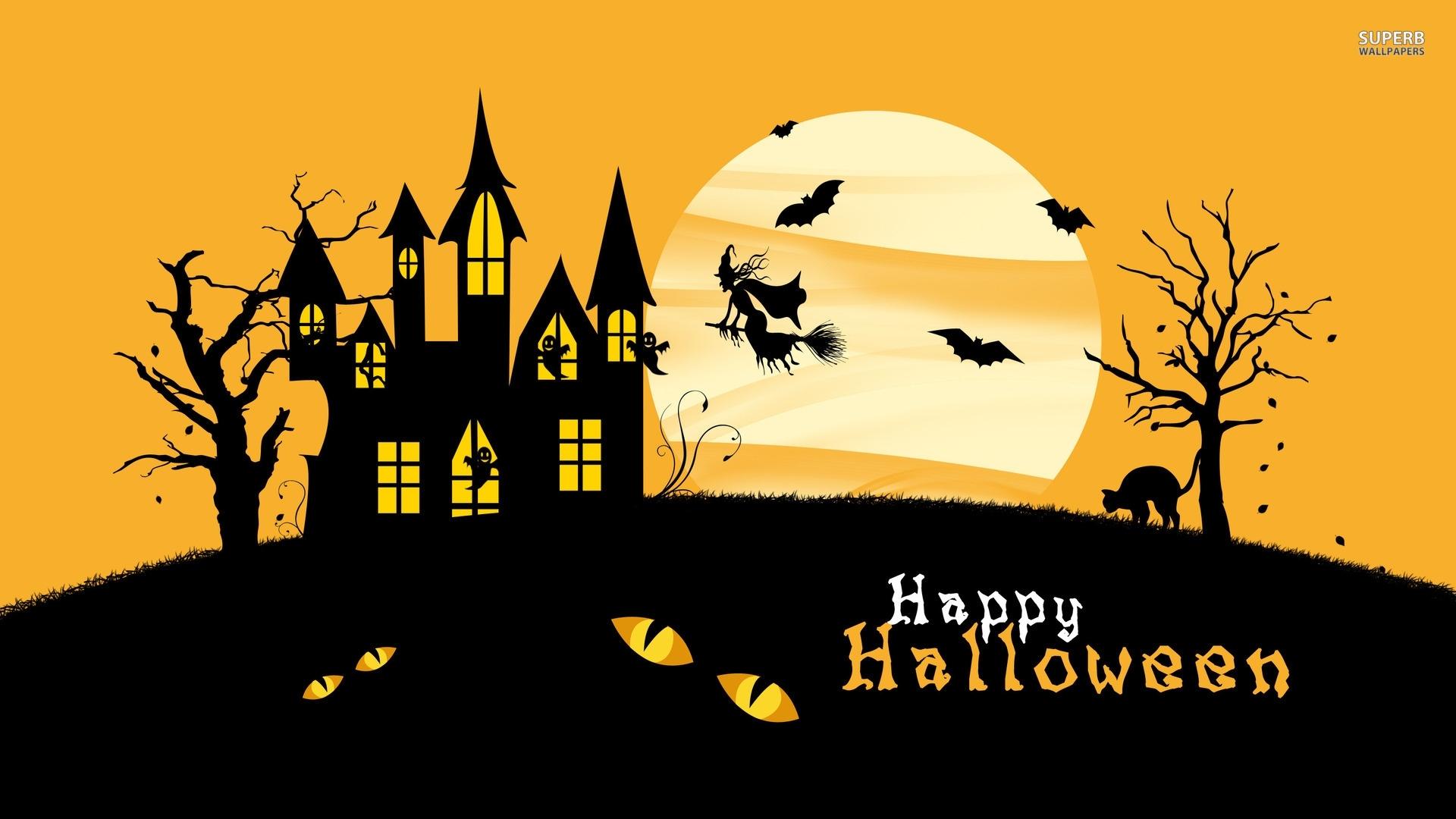 desktop wallpaper happy halloween #h441606 | holidays hd images