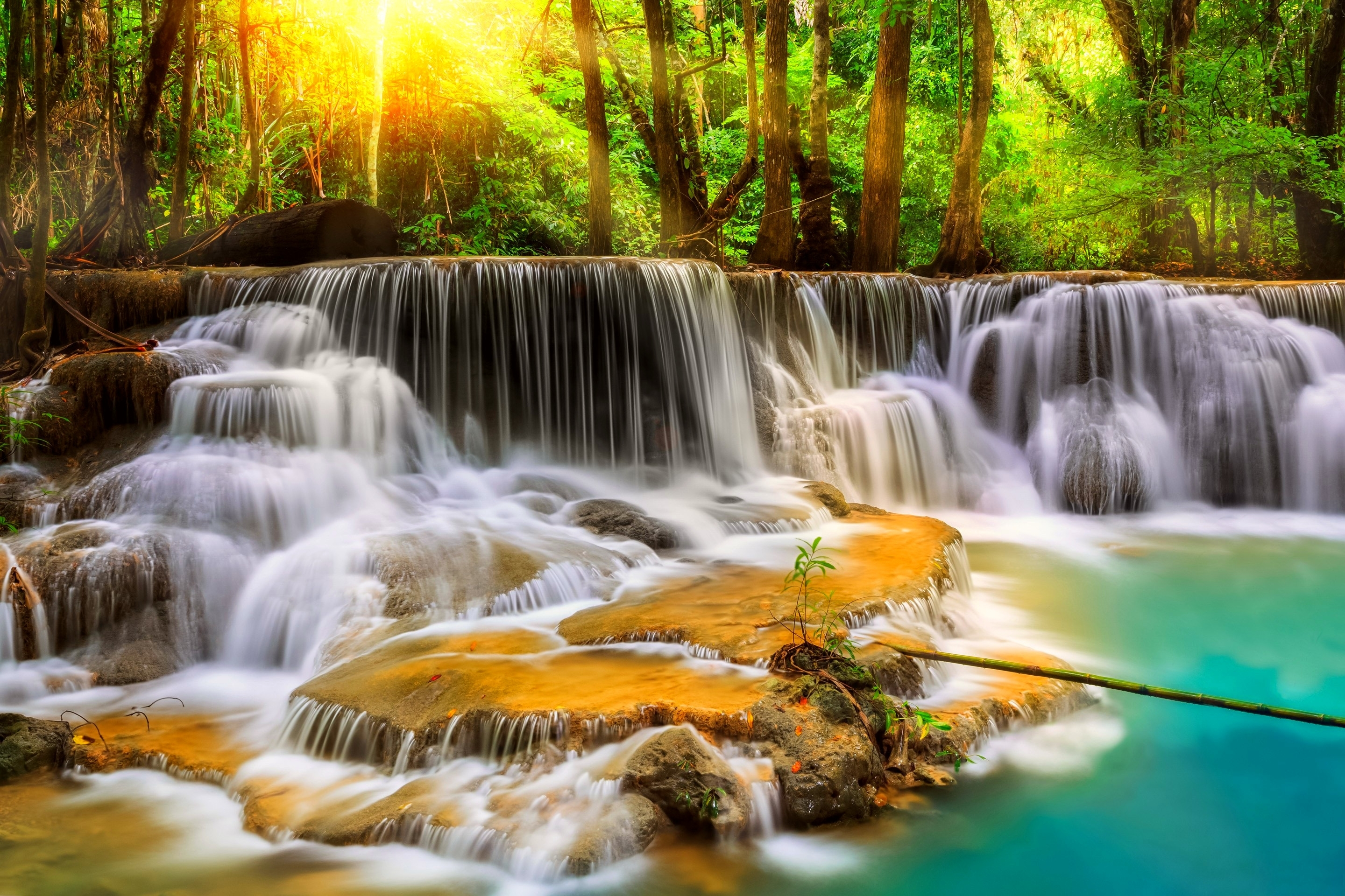 desktop wallpaper waterfall beautiful waterfalls wallpapers desktop