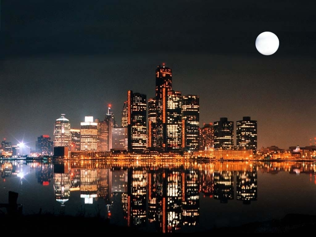 detroit wallpaper and background image | 1024x768 | id:31300