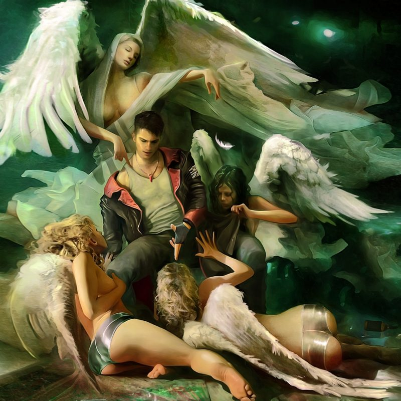 10 Latest Dmc Devil May Cry Wallpaper FULL HD 1080p For PC Desktop 2020 free download devil may cry angels wallpaper 800x800