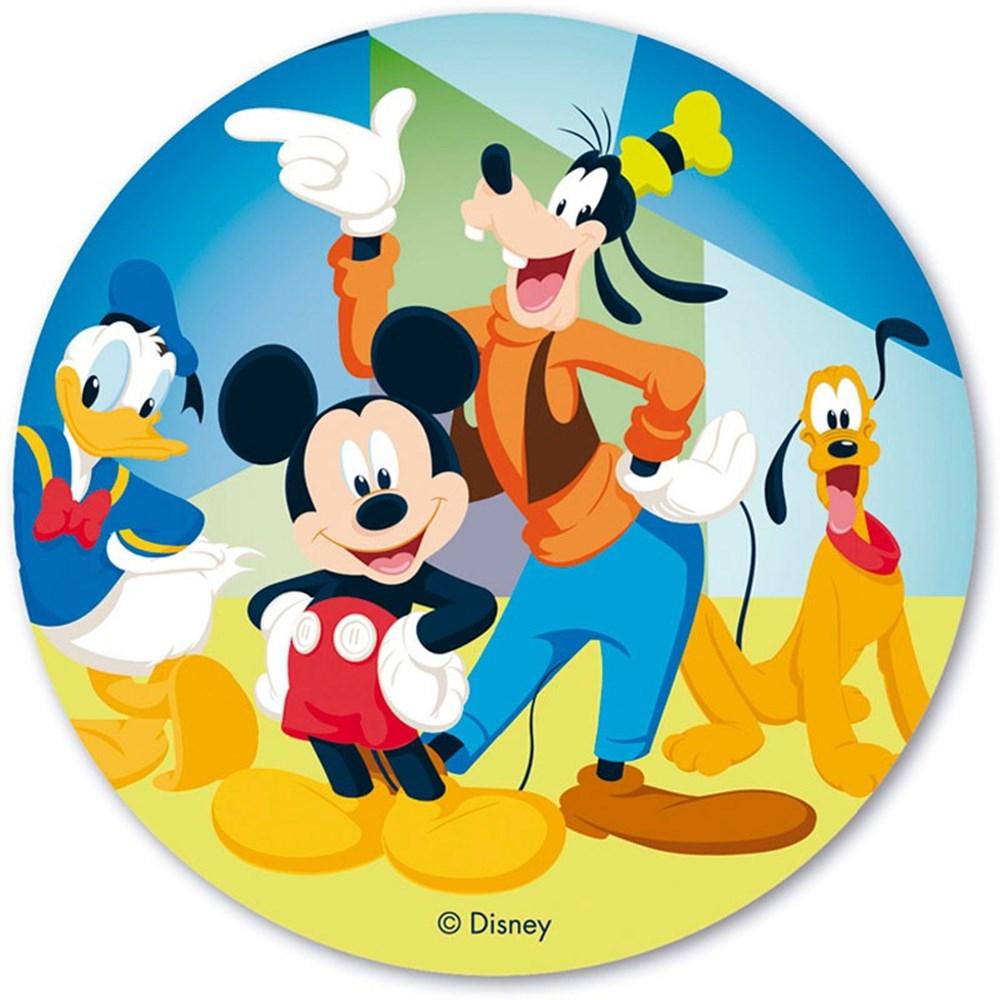 disco de oblea mickey mouse 20cm - my karamelli