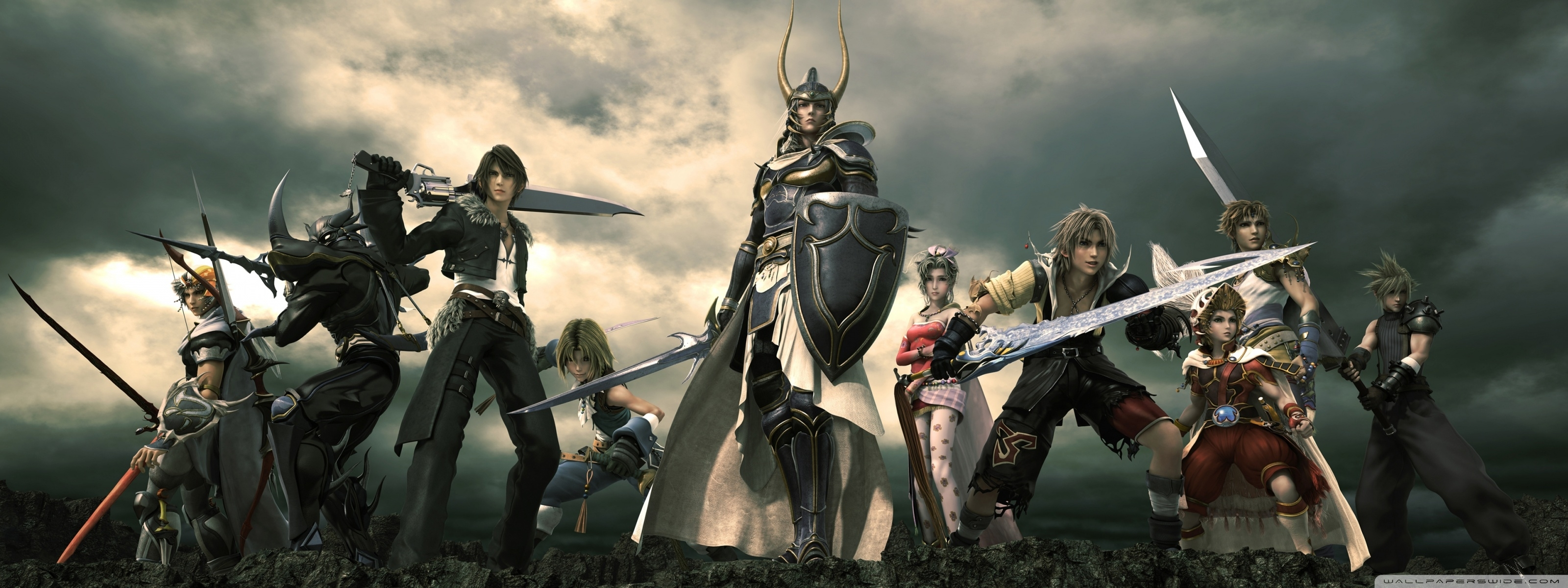 dissidia final fantasy ❤ 4k hd desktop wallpaper for 4k ultra hd tv