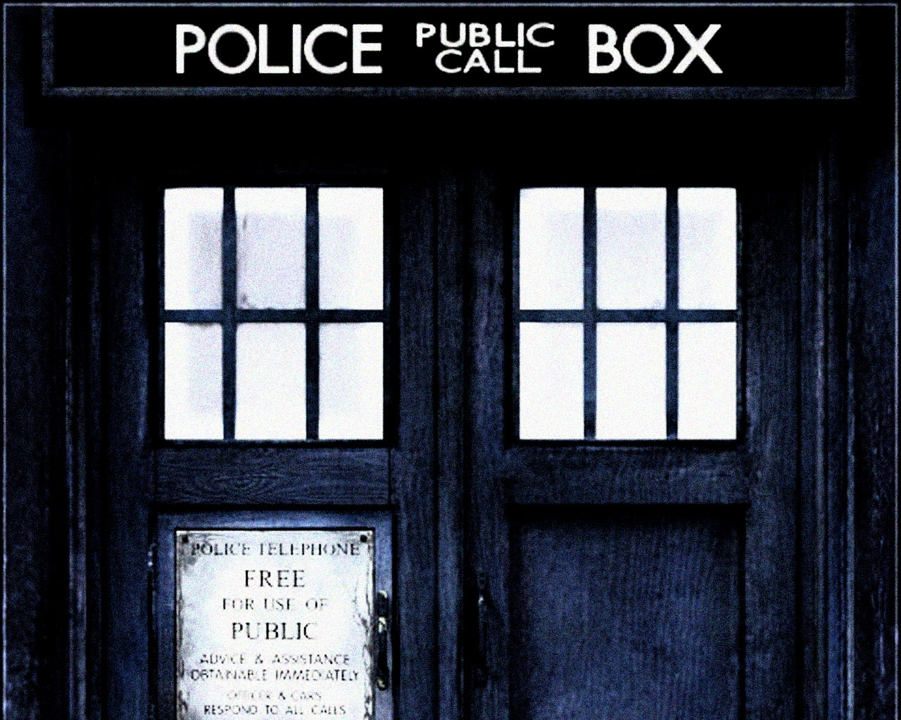 doctor who tardis 15962 - walldevil