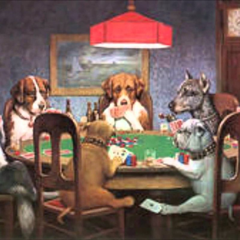 10 Top Dogs Playing Poker Wallpaper FULL HD 1920×1080 For PC Desktop 2018 free download dogs playing poker joke painting of the week youtube 1 800x800