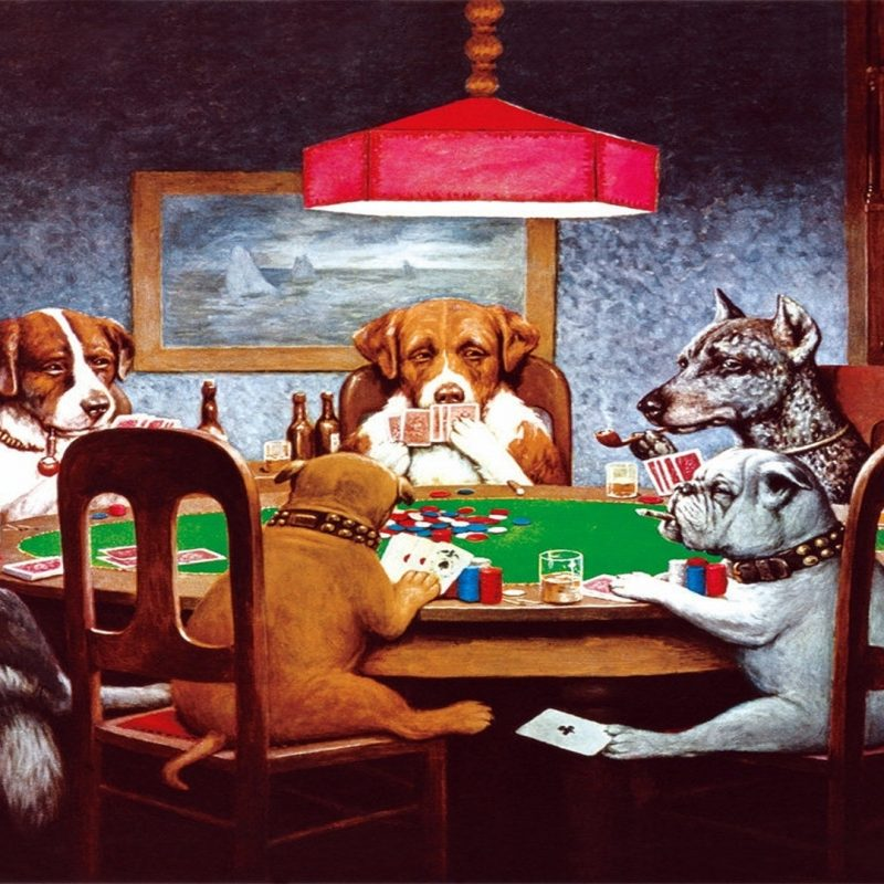 10 Top Dogs Playing Poker Wallpaper FULL HD 1920×1080 For PC Desktop 2018 free download dogs playing poker wallpaper 62 images 1 800x800