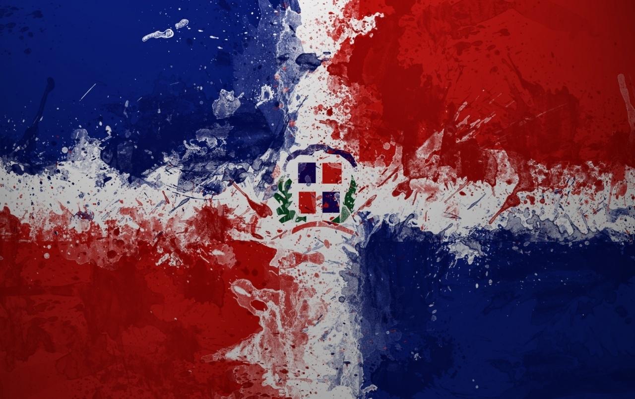 dominican republic flag wallpapers | dominican republic flag stock