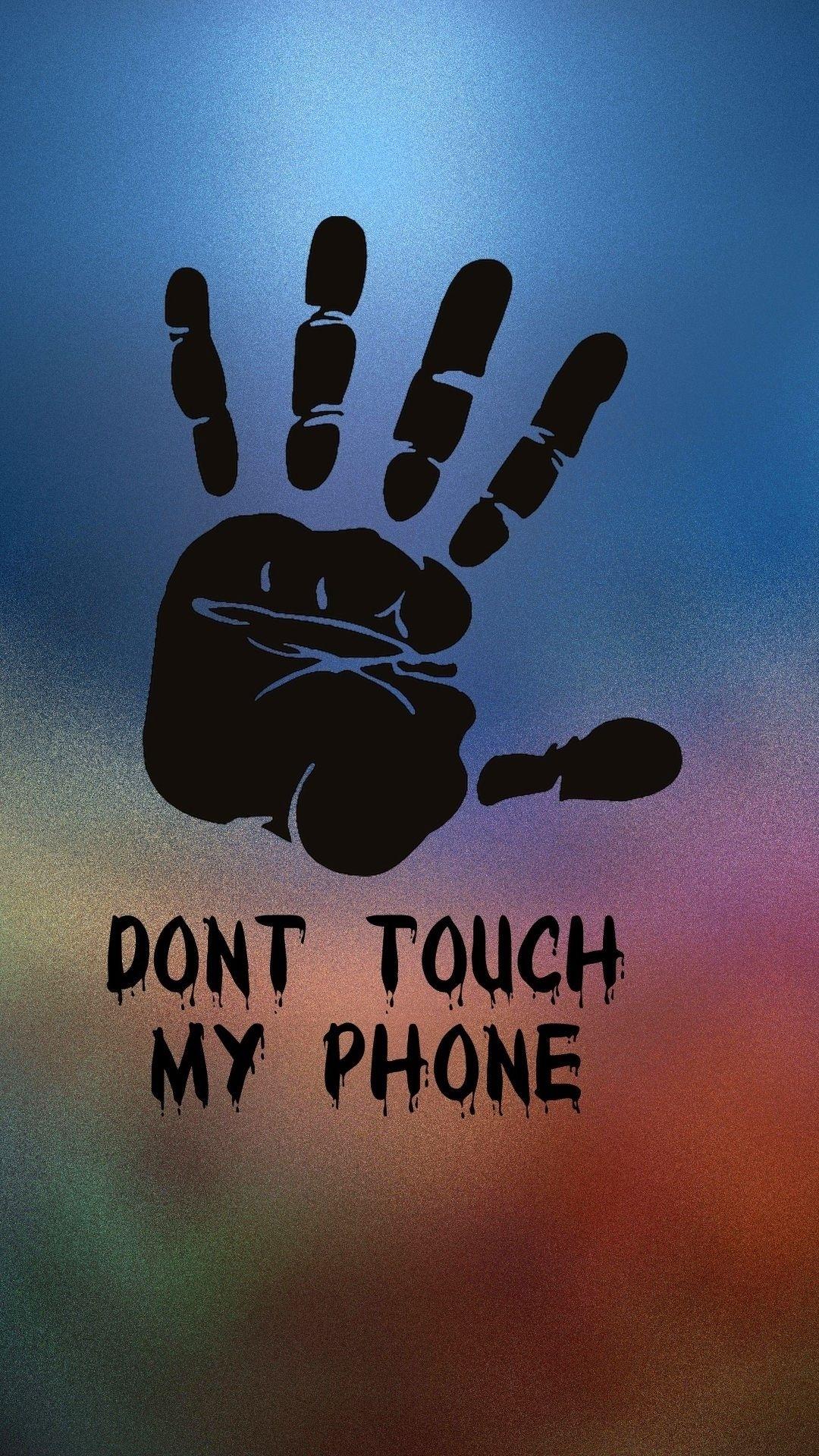 dont touch my phone apple iphone 5s hd Обои доступны для бесплатного