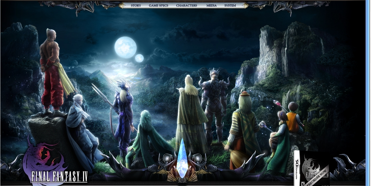 dossier final fantasy : les Épisodes iii et iv   daily mars