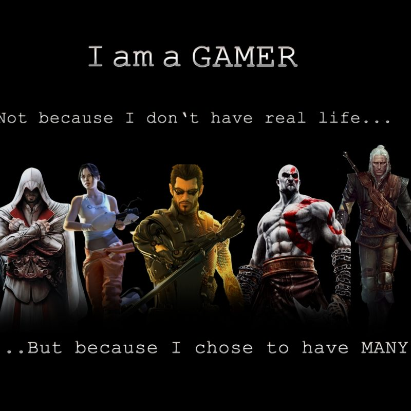 10 Most Popular I Am A Gamer Wallpapers FULL HD 1920×1080 For PC Desktop 2018 free download download am a gamer 1920x1080 hd wallpaper gaming gamer 800x800