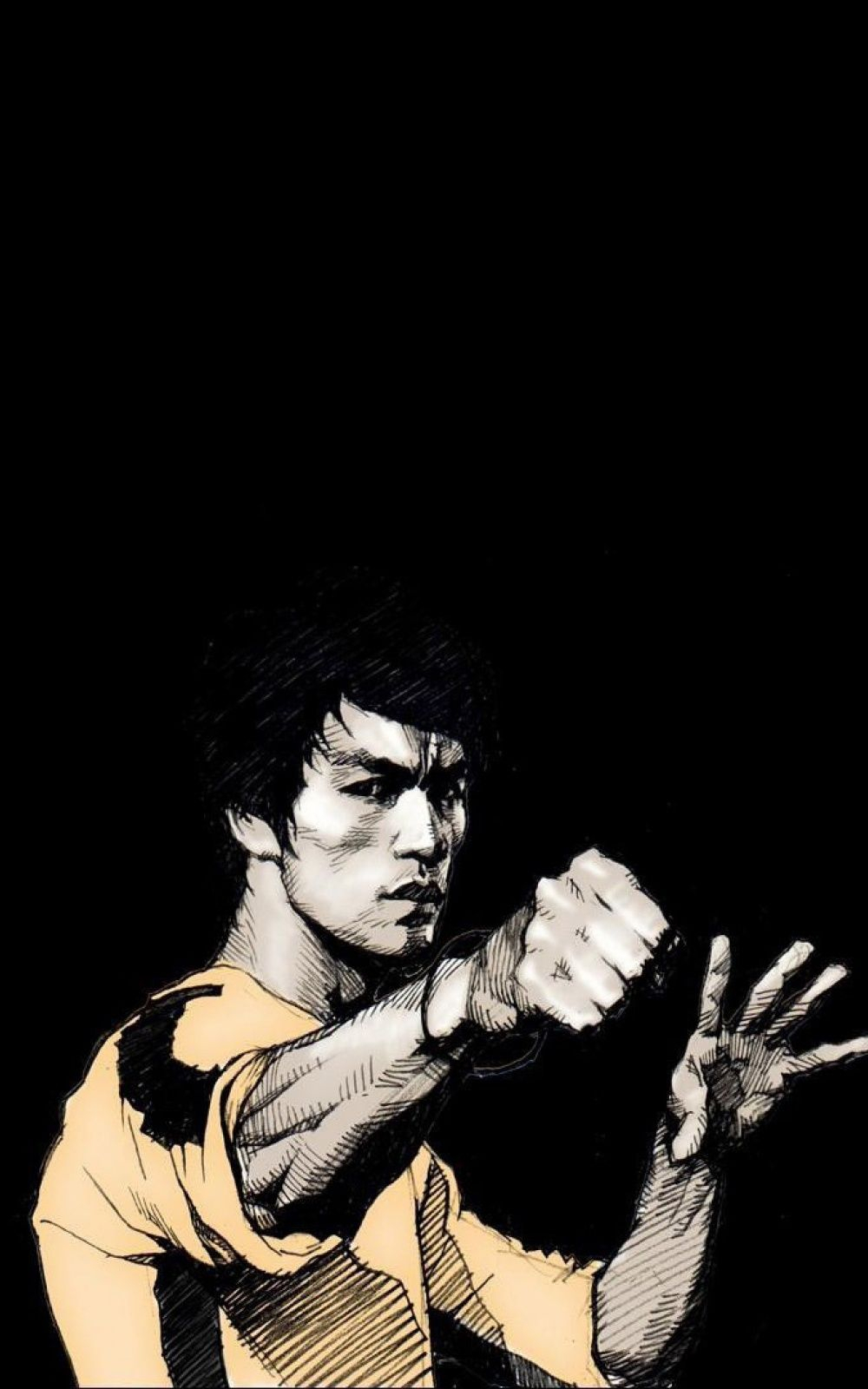 download bruce lee punch iphone 6 plus hd wallpaper | cartoon in