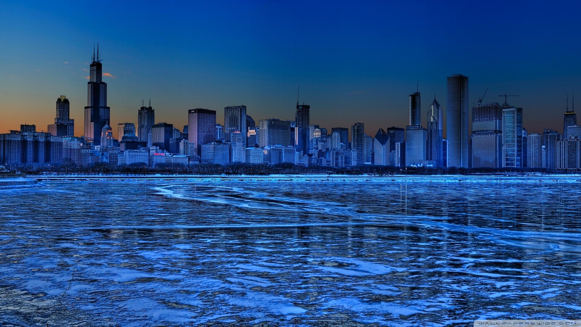 download chicago skyline 3 wallpaper 1920x1080 | wallpoper #444750