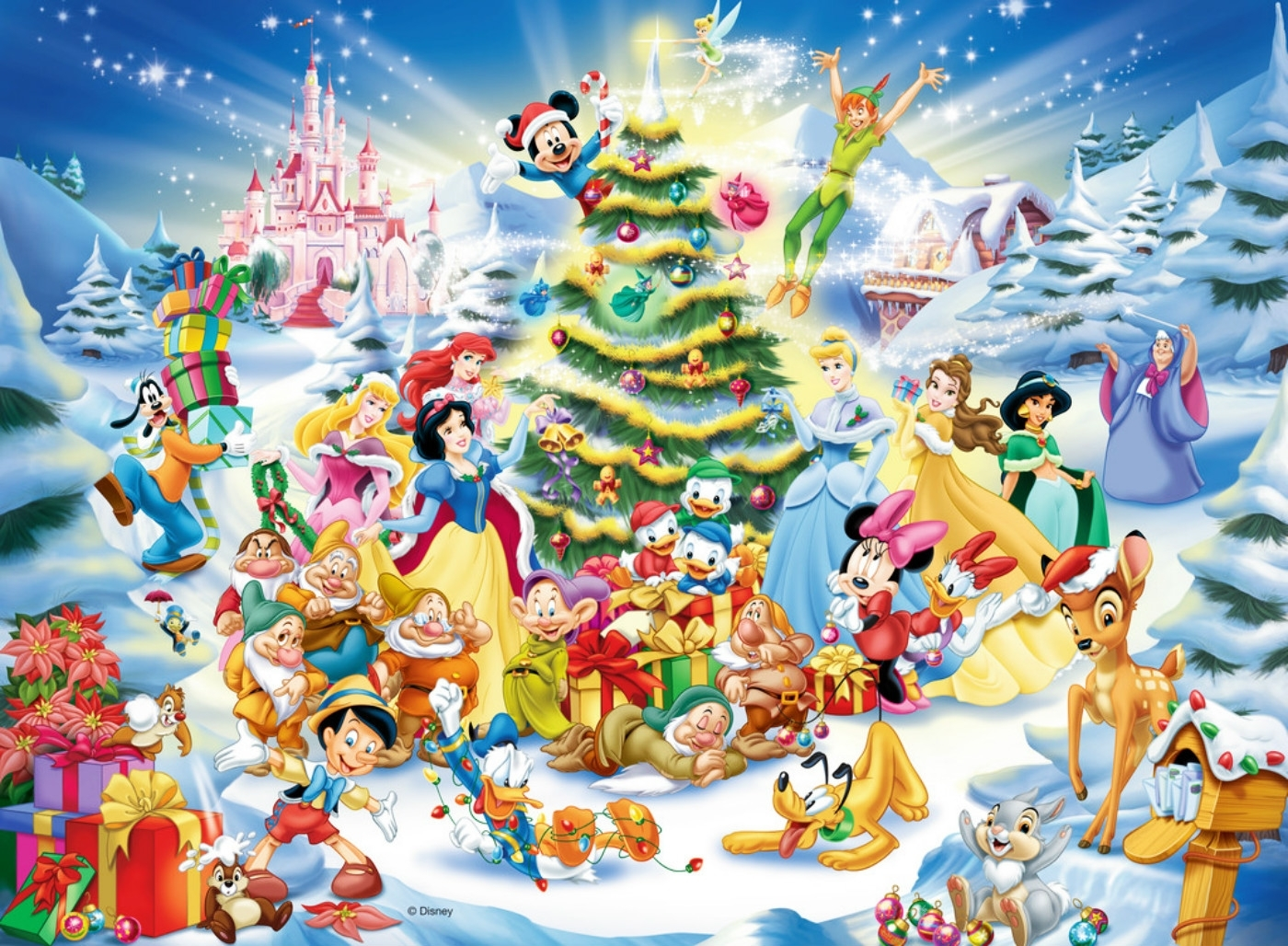download-disney-christmas-wallpaper-background (1400×1028