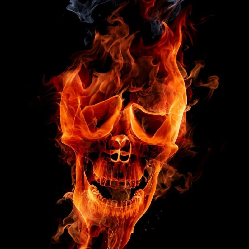 10 Best Skulls And Flames Wallpaper FULL HD 1080p For PC Background 2020 free download download flames skulls wallpaper 1600x900 wallpoper 423680 800x800