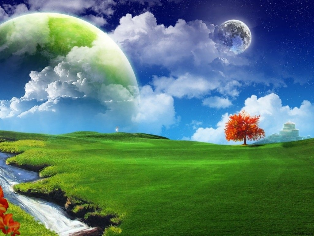 Download 55 Wallpaper 3d Nature Hd HD Gratid