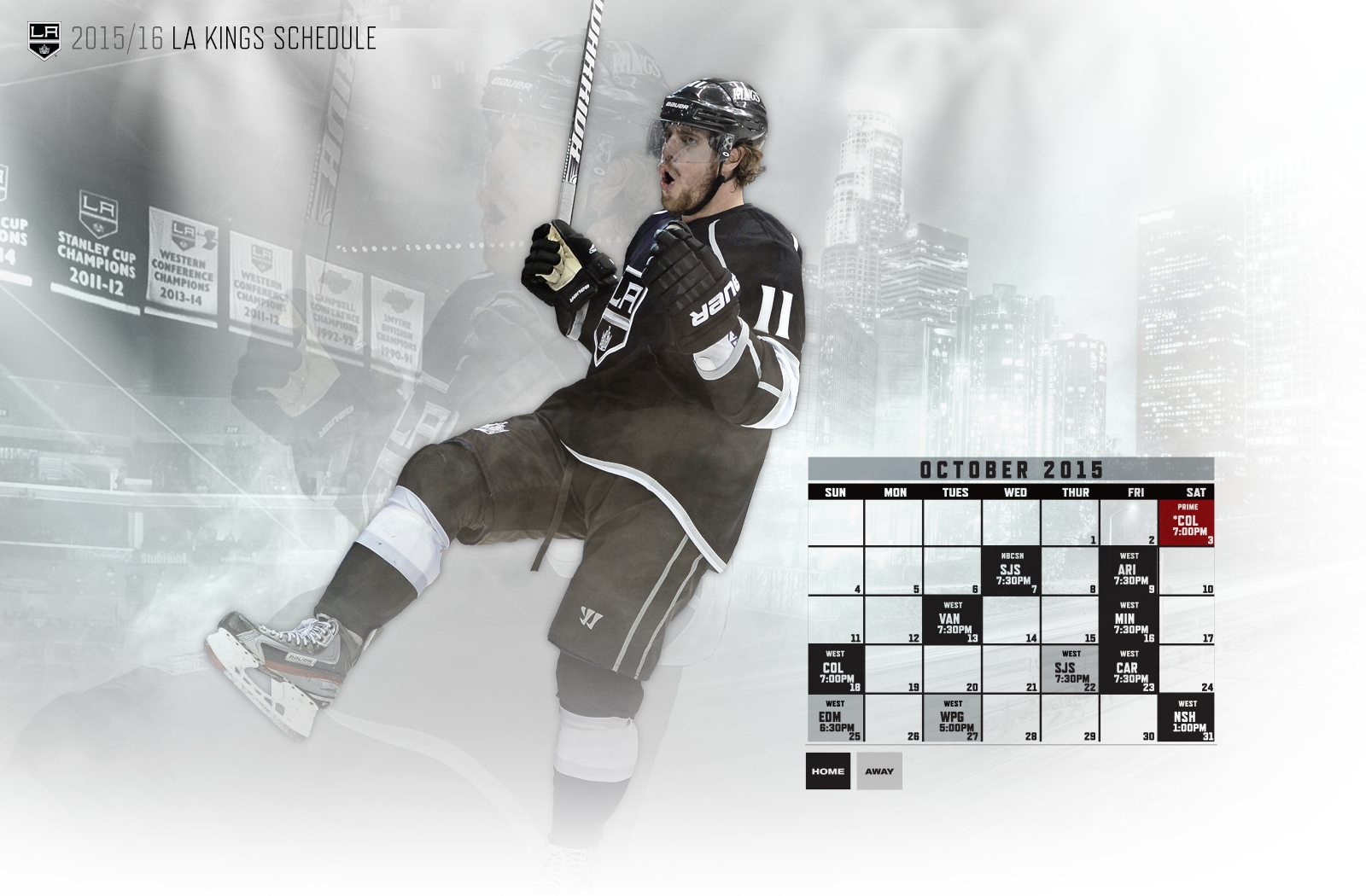 download la kings schedule wallpaper gallery