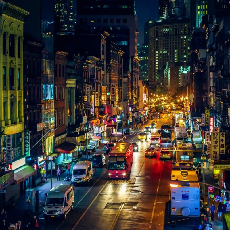 10 Top New York Streets At Night Wallpaper FULL HD 1080p For PC Background 2018 Free