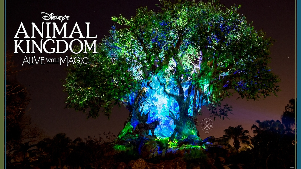 download our disney's animal kingdom 'nighttime'-inspired wallpapers