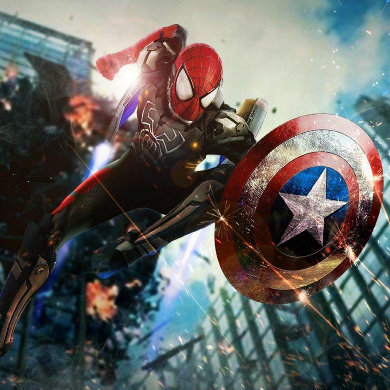 10 Top Spiderman Civil War Wallpaper FULL HD 1080p For PC Background 2020 free download download spider man civil war 2048 x 2048 wallpapers 4634683 800x800