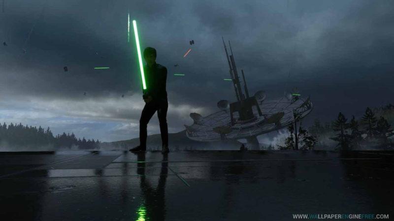 10 Latest 1080P Star Wars Wallpaper FULL HD 1920×1080 For PC Background 2020 free download download star wars luke skywalker endor rain 1080p 60fps wallpaper 800x450