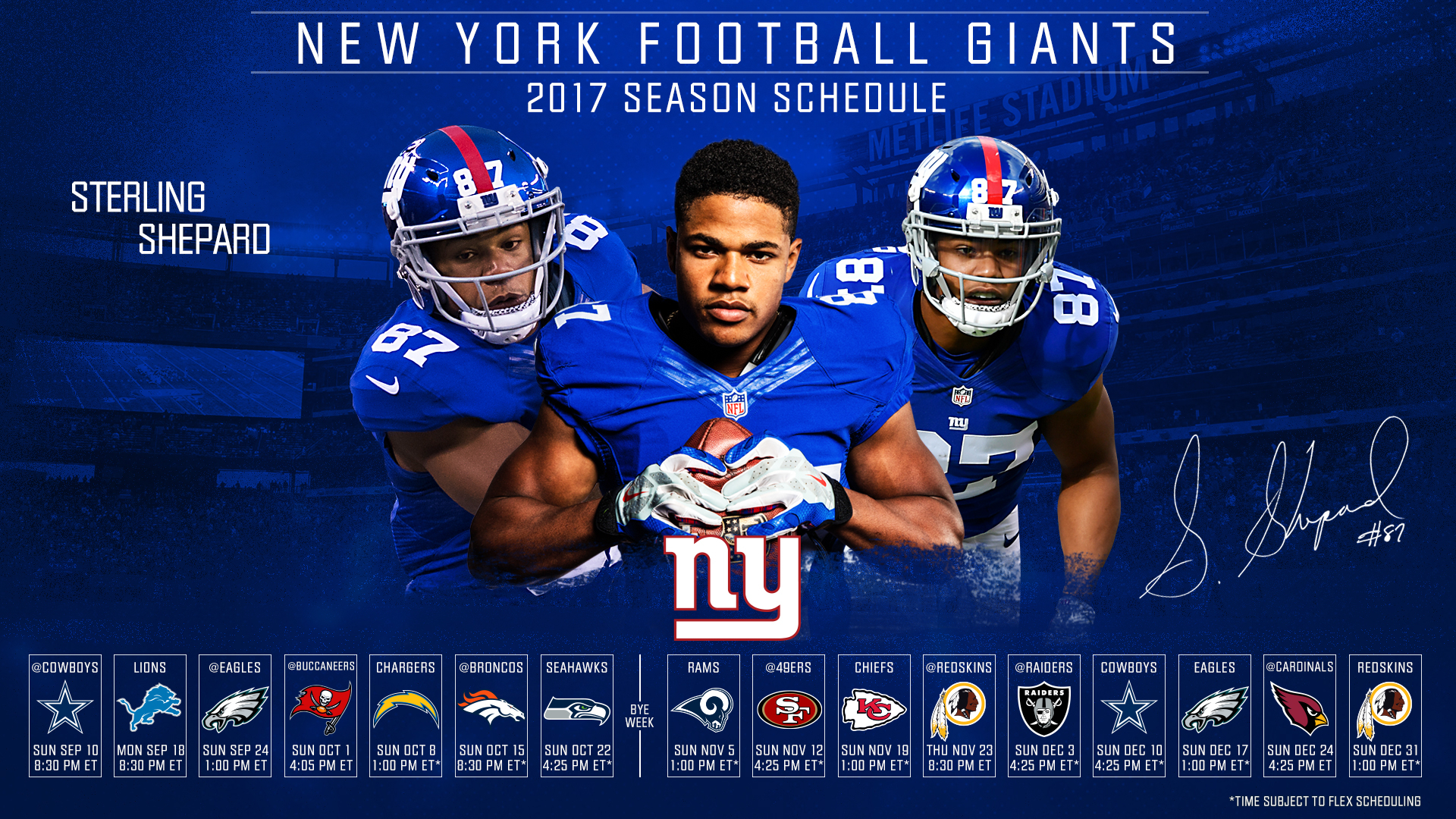 download the giants 2017 schedule wallpaper