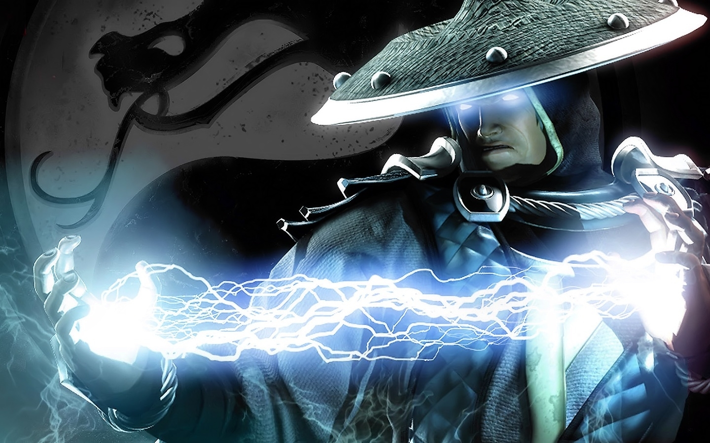 download the mortal kombat raiden wallpaper, mortal kombat raiden