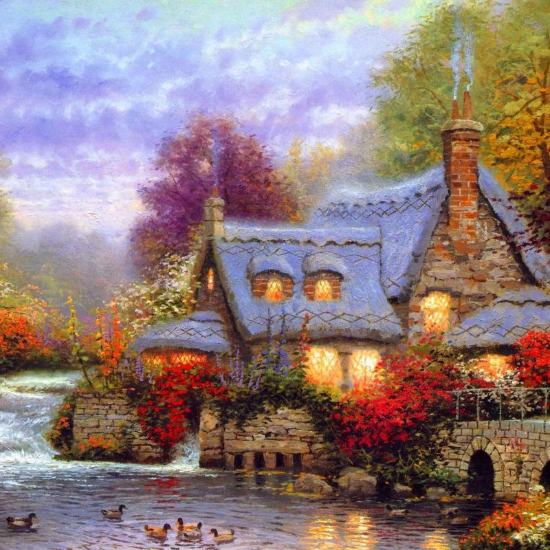 10 New Thomas Kinkade Fall Desktop Wallpaper FULL HD 1920×1080 For PC Background 2020 free download download thomas kinkade autumn wallpaper high quality resolution 800x800