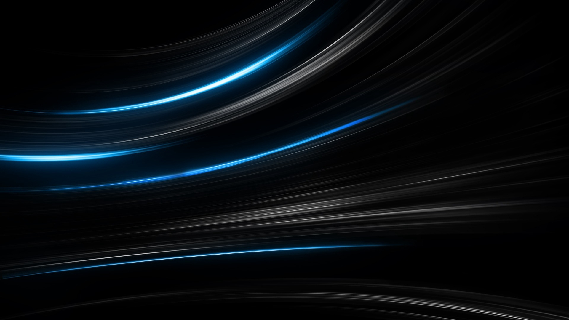 download wallpaper 1920x1080 black, blue, abstract, stripes hd